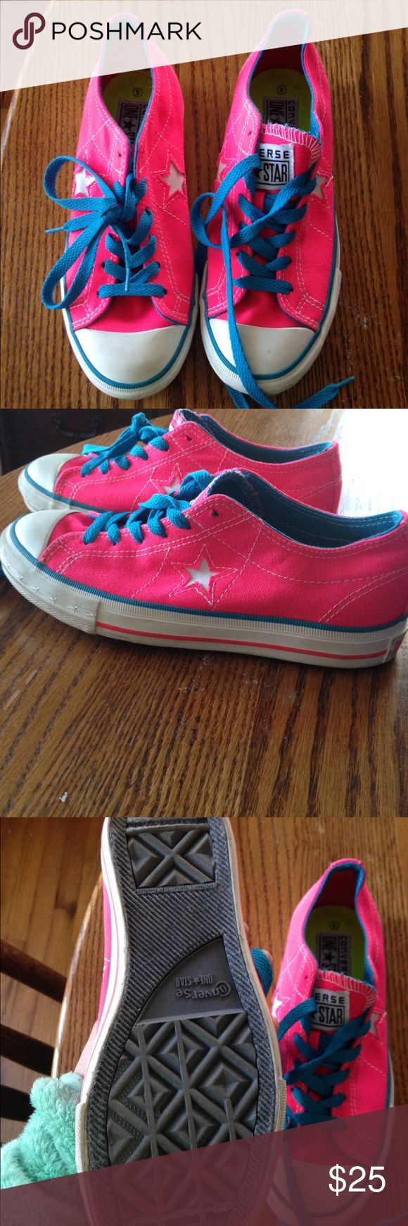 Converse one star shoes Gently worn one star shoes from converse smoke free pet free home Converse Shoes Sneakers