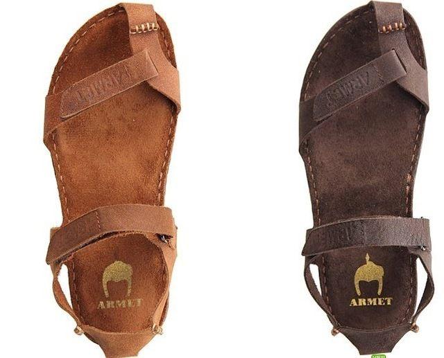 2013 hombres sandalias de cuero ocasionales para hombre de cuero genuino del zurriago de las sandalias masculinas hombres de las sandalias masculinas trend