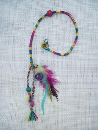 ATEBAS, accessoire cheveux,tresse amovible,atebas, africaine,indienne,plumes : Accessoires coiffure par jungleflower