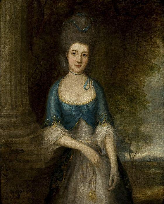 """Portrait of Mrs. Robinson (Elizabeth Fortescue)"", Thomas Gainsborough, ca. 1770; CAI 2008.6"
