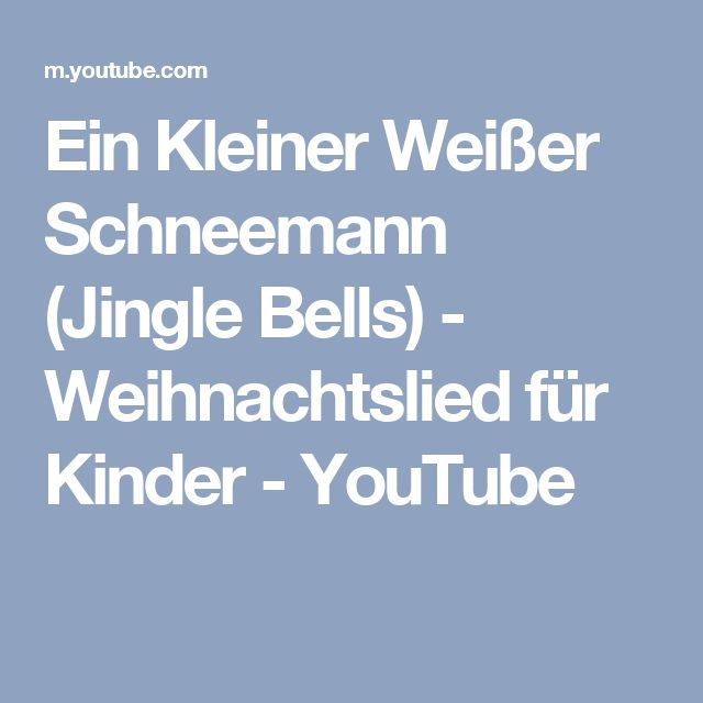 jingle bells auf deutsch