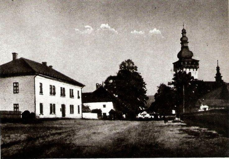Historické fotografie Handlová, námestie