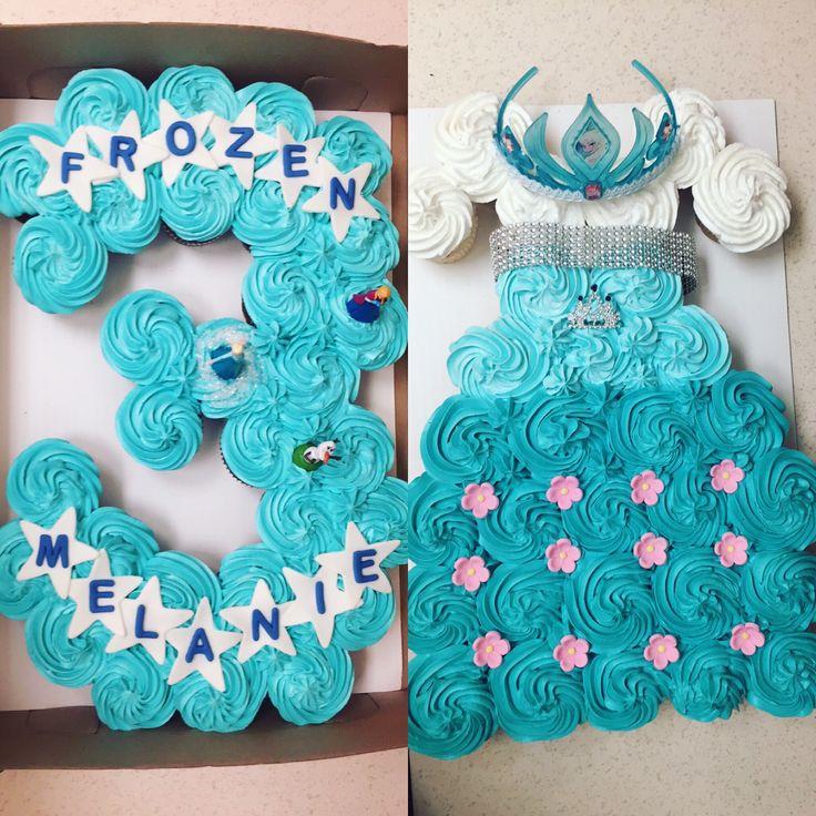 Frozen Cupcake Cakes