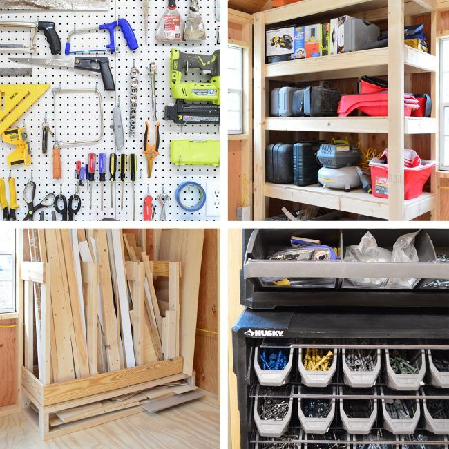 FOUR WAYS WE ADDED STORAGE & FUNCTION TO MY BELOVED SHED
