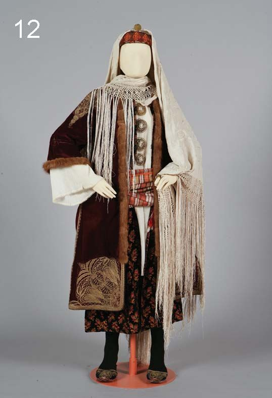 national costume in Kastelorizo, Dodecanese, Greece