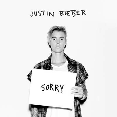 """Sorry"": Justin Bieber  ""Is it too late now to say sorry? Cuz I'm missing more then just your body"""