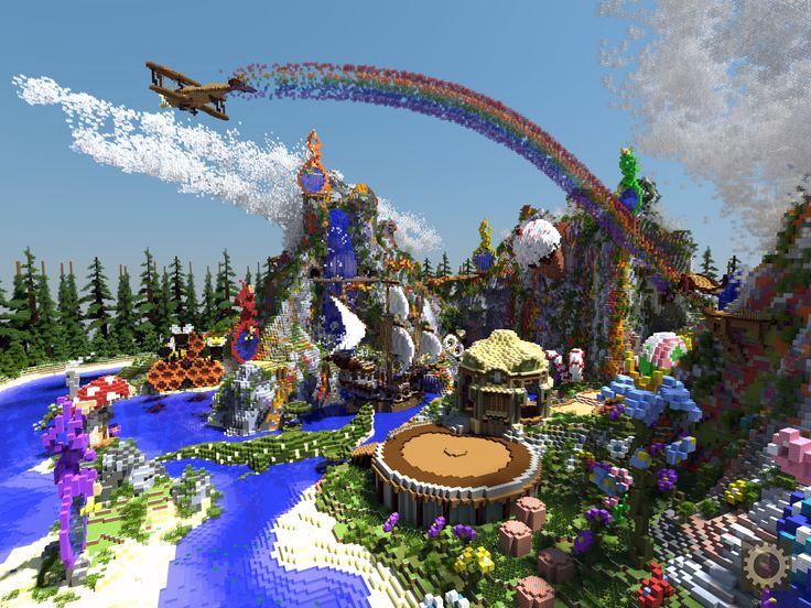 minecraft fairy land - Google Search
