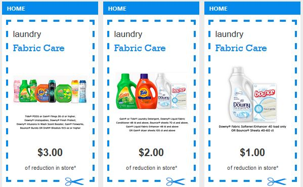 $3/1 Tide Pods 26 Count or Higher, $2 off Tide or Gain Liquid and $1/1 Downy or Bounce Sheets (Plus Awesome Walmart Deals!)