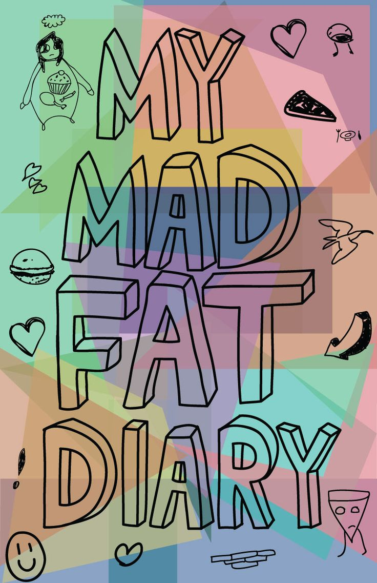 My Mad Fat Diary 11x17 poster by BeigeLunatics on Etsy, $10.00