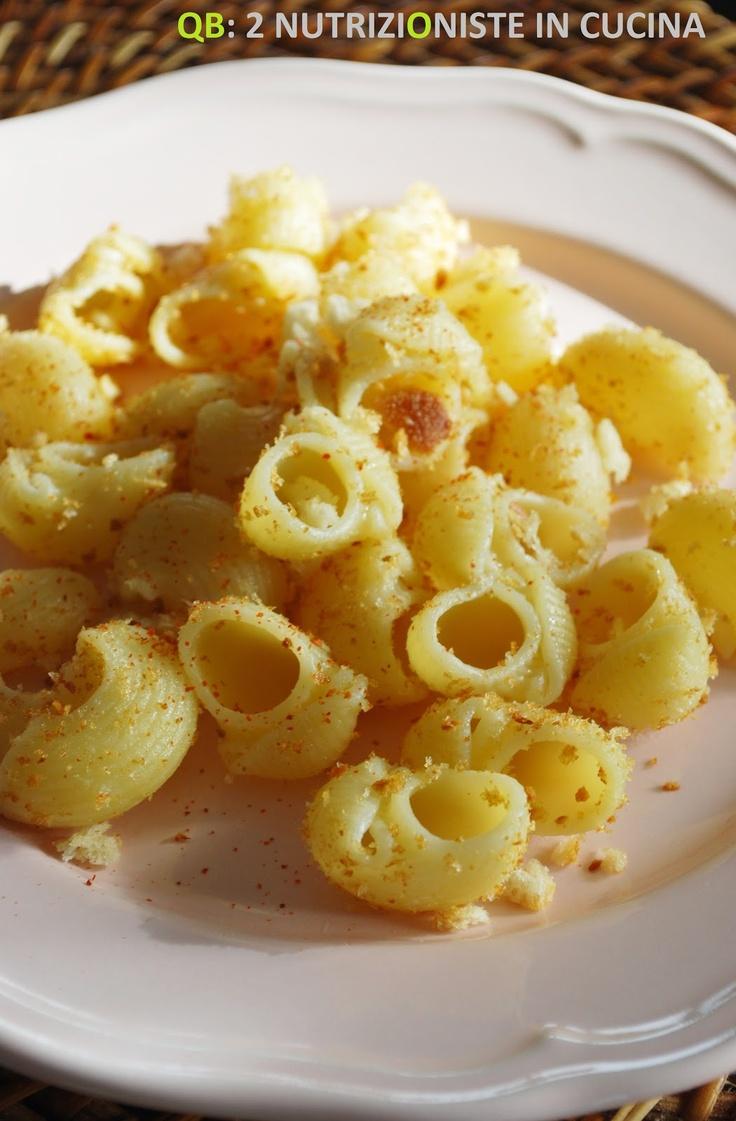 Q B Le ricette light: Pasta con briciole di pane al peperoncino