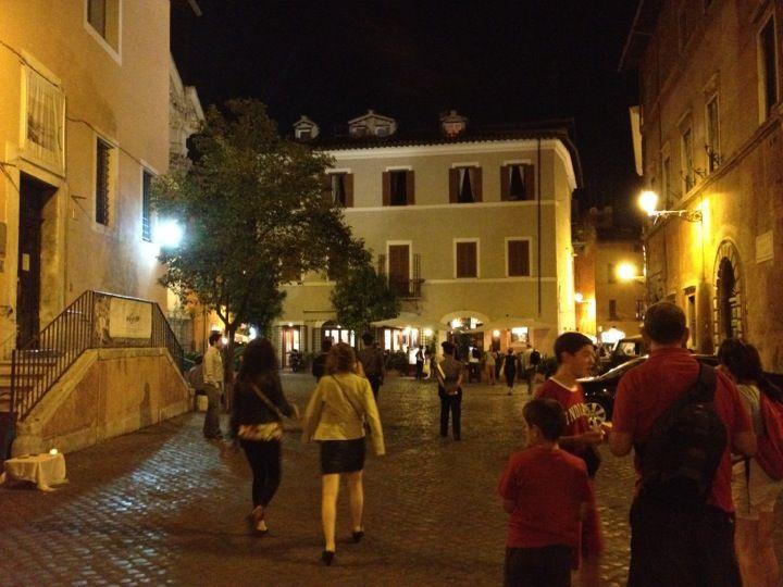 Piazza Di Sant'Egidio nel Roma, Lazio