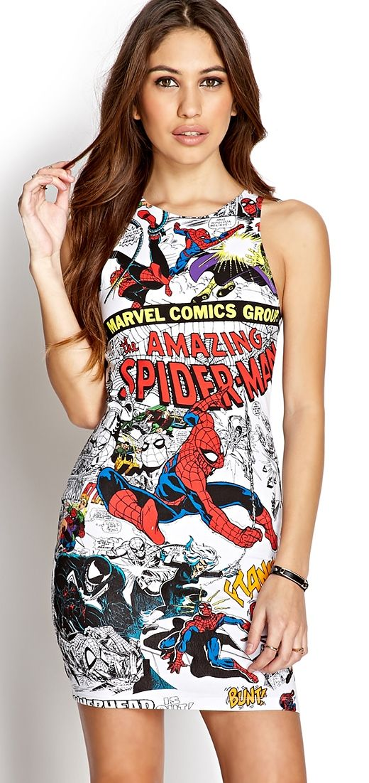 SpiderMan dress! Marvel-ous!