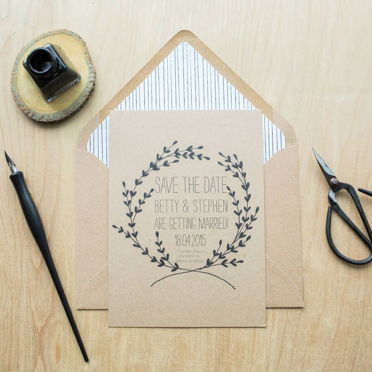I've just found Whimsical Save The Date Card. This personalised Whimsical wedding Save The Date is perfect if you are planning a rustic and woodland affair.. £2.00