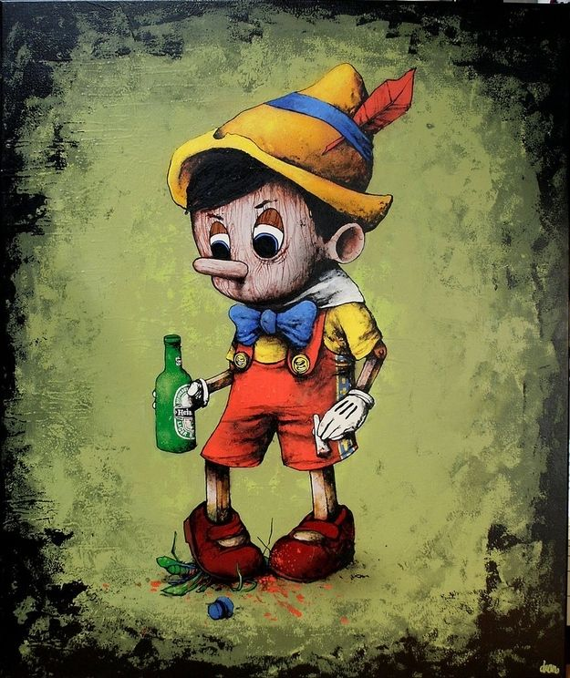 "win The Best Of French Street Artist DRAN Or, really, the ""worst."" He's at his best when he's depressingly morbid. posted on Oct. 9, 2012, at 1:41 p.m. copyranter BuzzFeed Staff 1.Shut-up, you overly-optimistic cricket. The Best Of French Street Artist DRAN"
