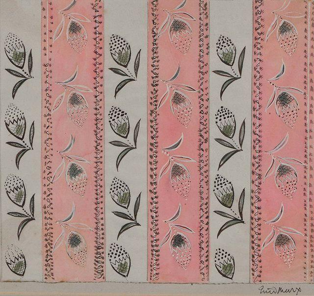 Enid Marx (British, 1902-1998), Design for Wallpaper II, 1949
