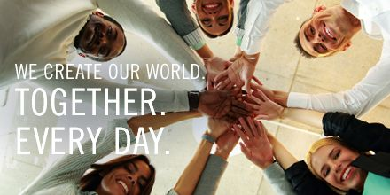 What kind of world are you going to create today? #community