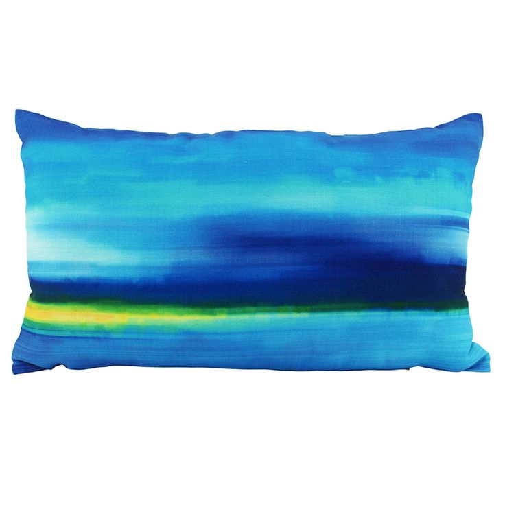 Mirage Cushion Cover | Blue | 30x50cm by Cushions & Ceramics on THEHOME.COM.AU