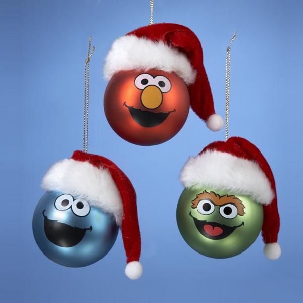 Sesame Street Ornament Set