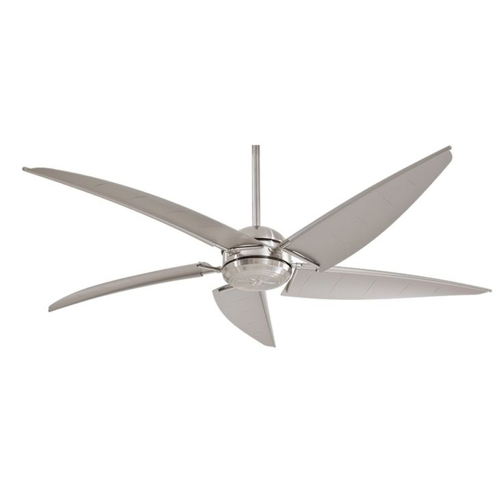 Brushed Nickel Ceiling Fans Without Lights