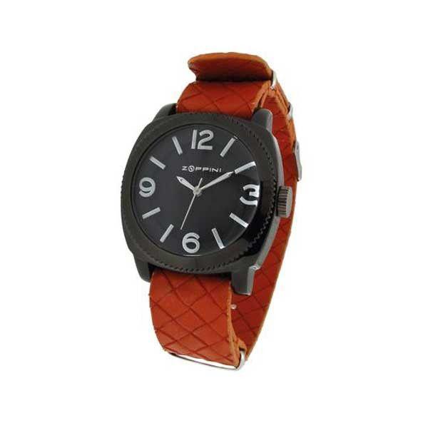 L' orologio Zoppini Time Tornado V1259_5510  ha un prezzo di listino di 59 euro Cassa: Alluminio Cinturino: Pu intreccio Arancione Colore: Nero