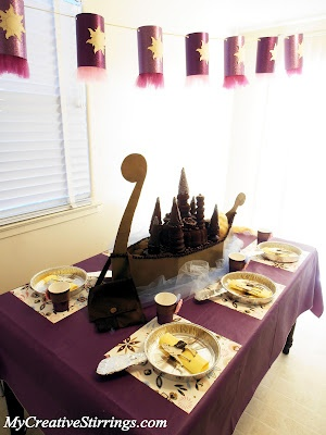 Tangled Birthday Party (Rapunzel)- The Table Setting