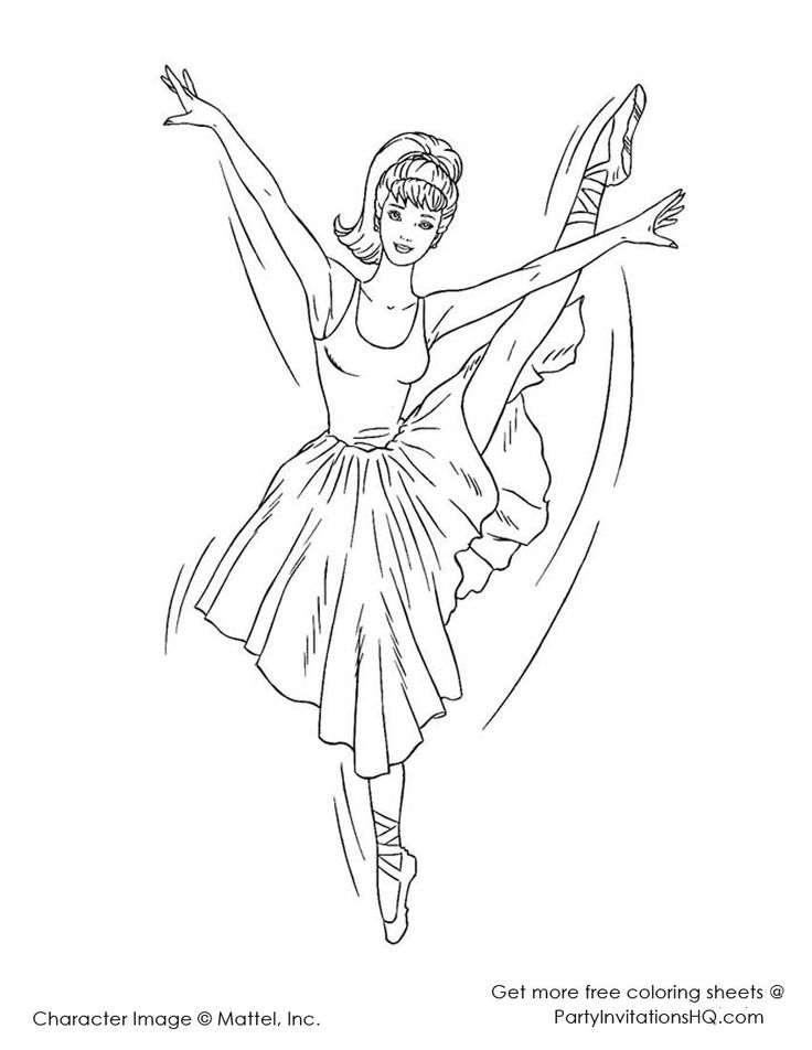 47 best coloring images on Pinterest Print coloring pages, Tattoo - copy coloring pages barbie ballerina