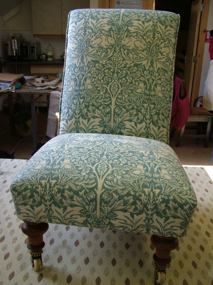 Victorian nursing chair - after