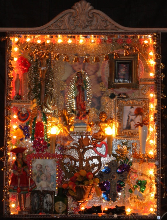 The altar of the family text