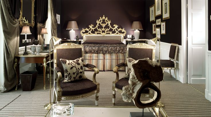 It's all about the details in a junior suite. #Suite #Hoteld'Angleterre #UniqueSleeps #Luxury #Switzerland #Geneva