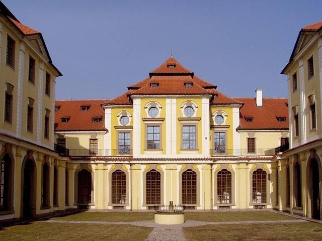 Česko, Praha - Zbraslav-Zámek