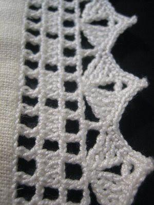 Filomena Crochet e Outros Lavores: - PAP de barrado de crochet