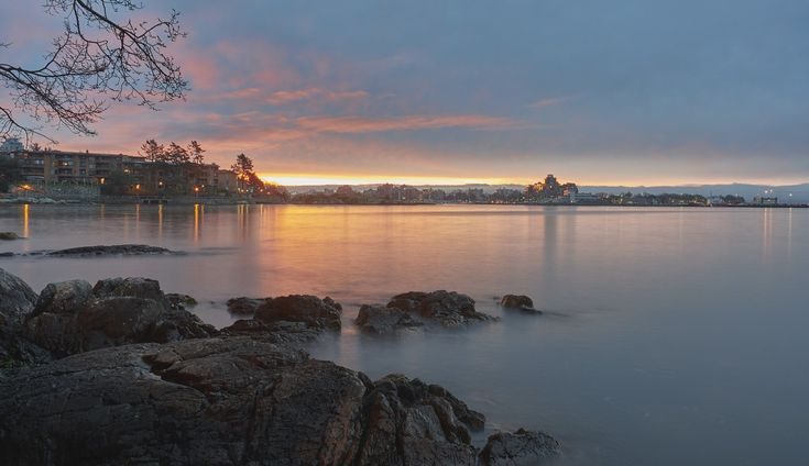 Another beautiful #sunrise in #VictoriaBC