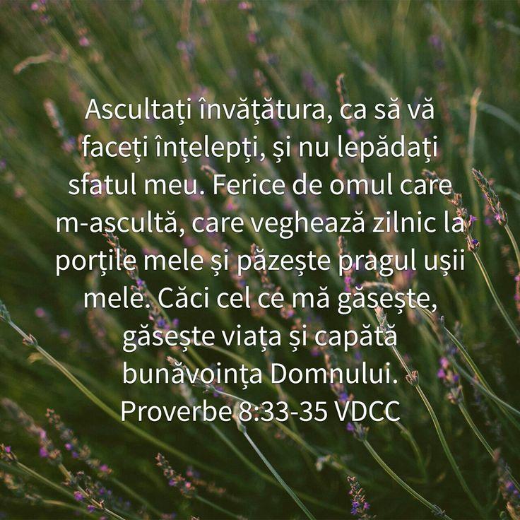 Prov. 8:33-35