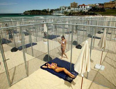 Gregor Schneider 'Bondi Beach'