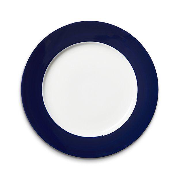 Maison Cobalt Blue Dinner Plate | Crate and Barrel