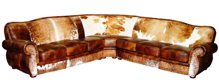 17 Best images about Cowhide & Leather on Pinterest