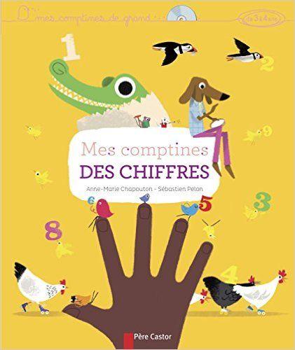 Amazon.fr - Mes comptines des chiffres (1CD audio) - Anne-Marie Chapouton, Pierre Coran, Sébastien Pelon - Livres