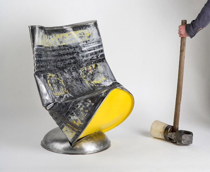 Oil Barrel Chair by Roberto Mora