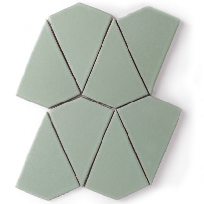 Kite - Formal tile by Fireclay Tile #tile #fireclay