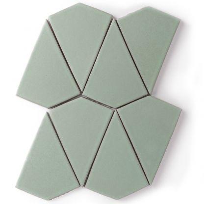 Kite - Formal tile by Fireclay Tile #tile #fireclay
