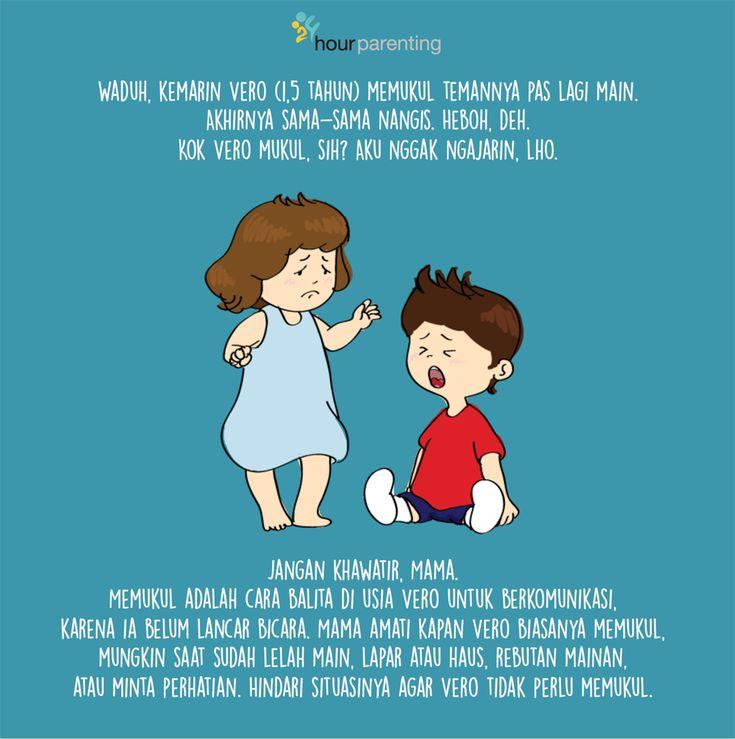 Lho! Vero kok mukul, sih? #poster #parenting >>
