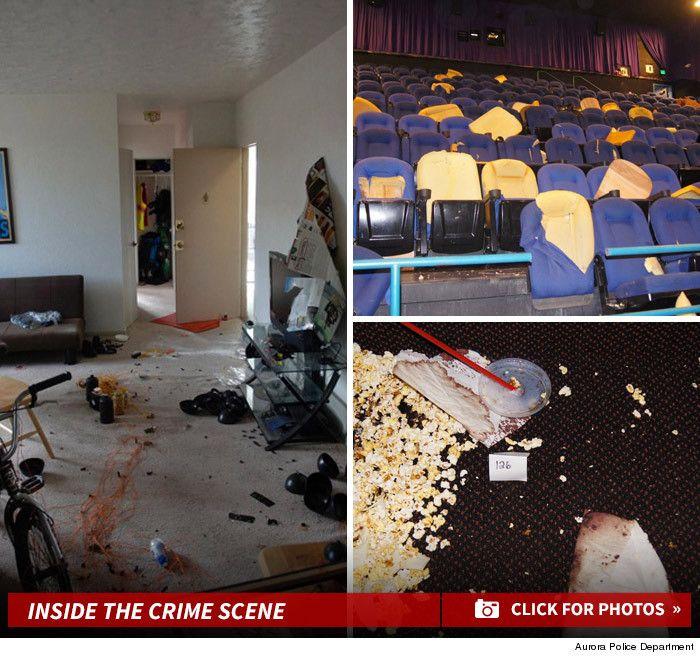 Colorado Shooting Evidence: COLORADO THEATER SHOOTING CHILLING CRIME SCENE PHOTOS