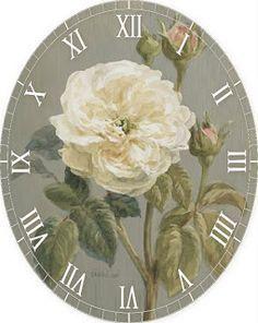 Resultado de imagen para relojes con decoupage