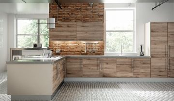 Bella Rustic Kitchen - By BA Components.