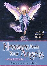 Doreen Virtue messages from your angels cards