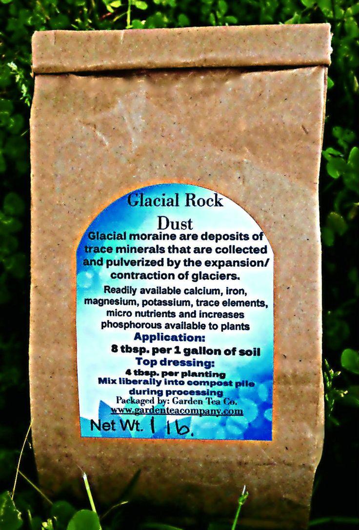 Glacial Rock Dust Rock Dust Compost Tea Micro Nutrients