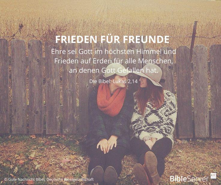 Bibelvers Freundschaft