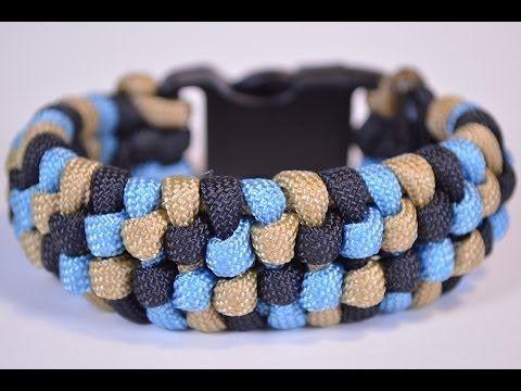 "How to Make the ""Snake Skin"" Design Paracord Bracelet - BoredParacord"