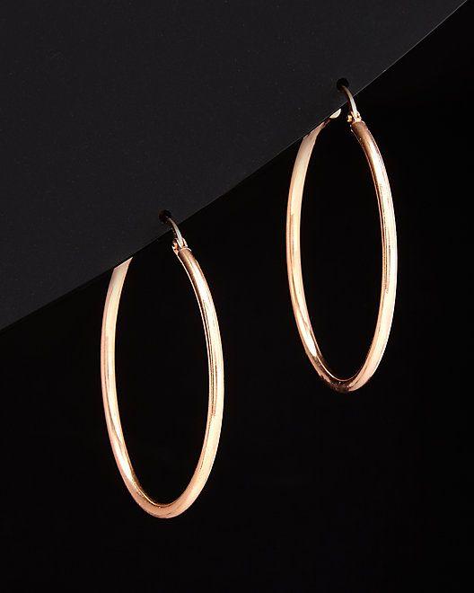fe689252e40a0 14K Italian Gold Hoops #Italian, #Hoops, #Gold | Fashion For Teens ...