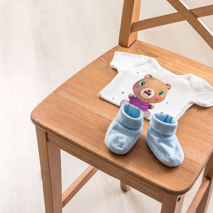 Доброе утро! Чудесный подарок малышу - футболочка с милым акварельным персонажем! 100% хлопок отличного качества. Яркий принт. Больше на сайте BAMBINIC.RU  #мама #ямама #инстадети #медвежонок #мишка #моязайка #сыночек #бодик #детиекб #детиспб #инстамама #instamam #teddybear #принт #малышка #маменазаметку #моякрошка